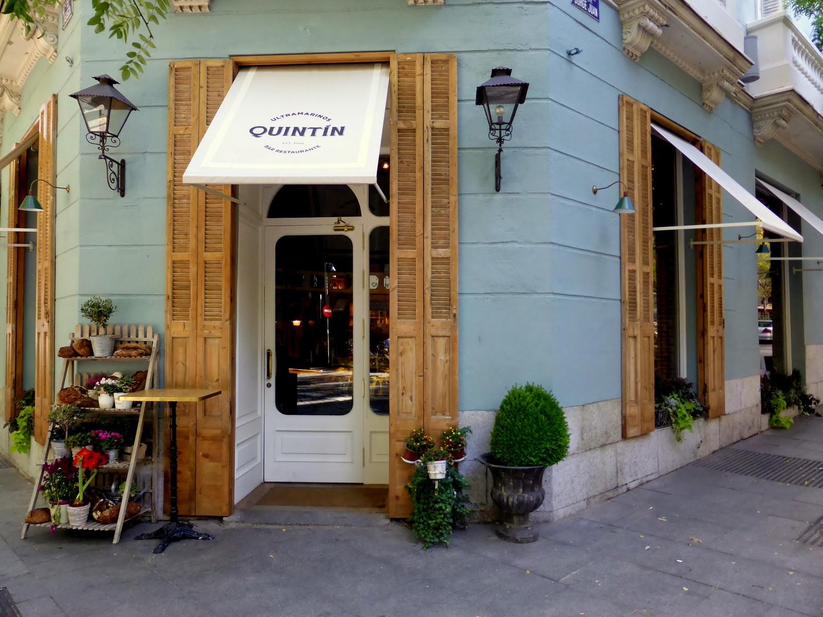 Restaurante de moda en madrid en la calle jorge juan for Restaurante lamucca calle prado madrid